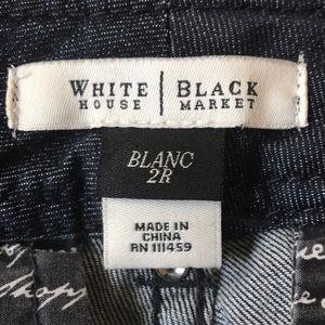 WHBM Blue Jeans